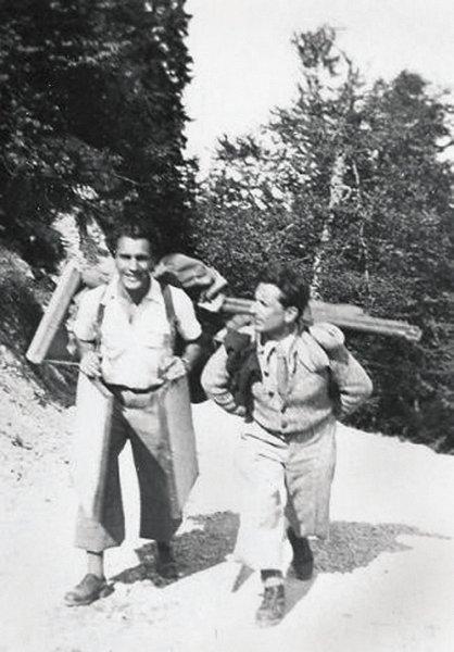 40-artistul-in-muntii-bucegi-insotit-de-prietenul-sau-paul-marculescu-septembrie-1943