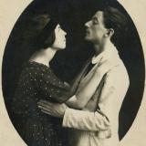 13 Ariadna si George, proaspat logoditi. Soroca, 1919