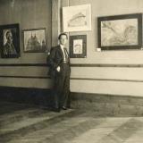 31 George Lowendal, in expozitia sa personala de la Sala Mozart. Bucuresti, 1935