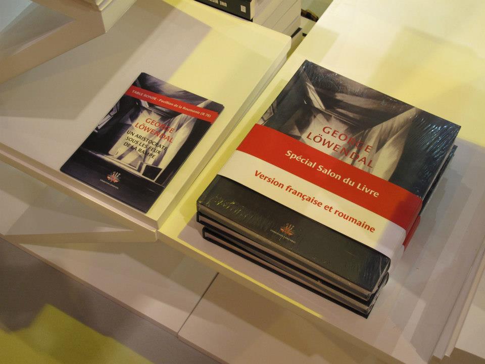 Fundația Löwendal@Salon du Livre Paris 22-25.05.2013