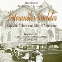 Veteranele Șoselelor – Expoziția Vehiculelor Istorice Antebelice @ Fundația Löwendal