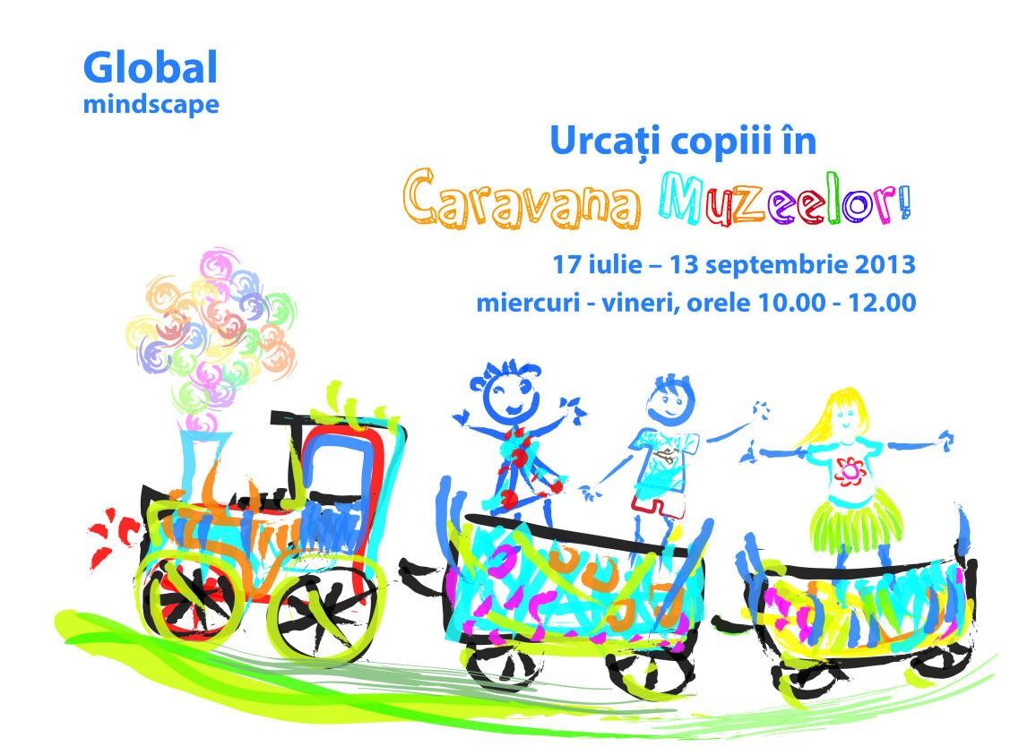 Caravana Muzeelor (a doua ediție), 17 iulie – 13 septembrie 2013, 6-10 ani@Fundația Löwendal