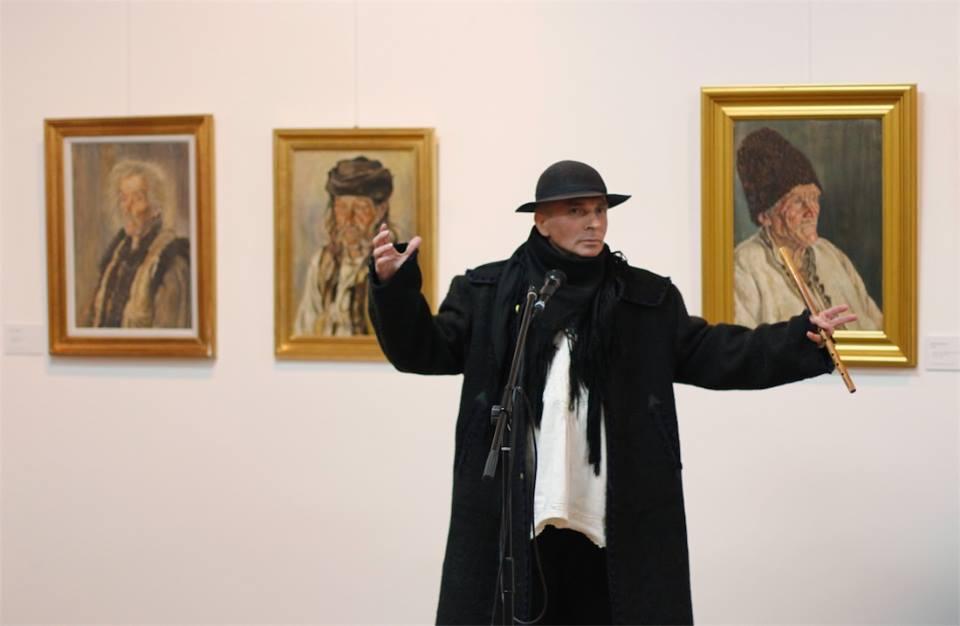 "Vernisaj expoziție  ""George Löwendal – Întâlnirile mele cu țăranii"", 26.11.2014"