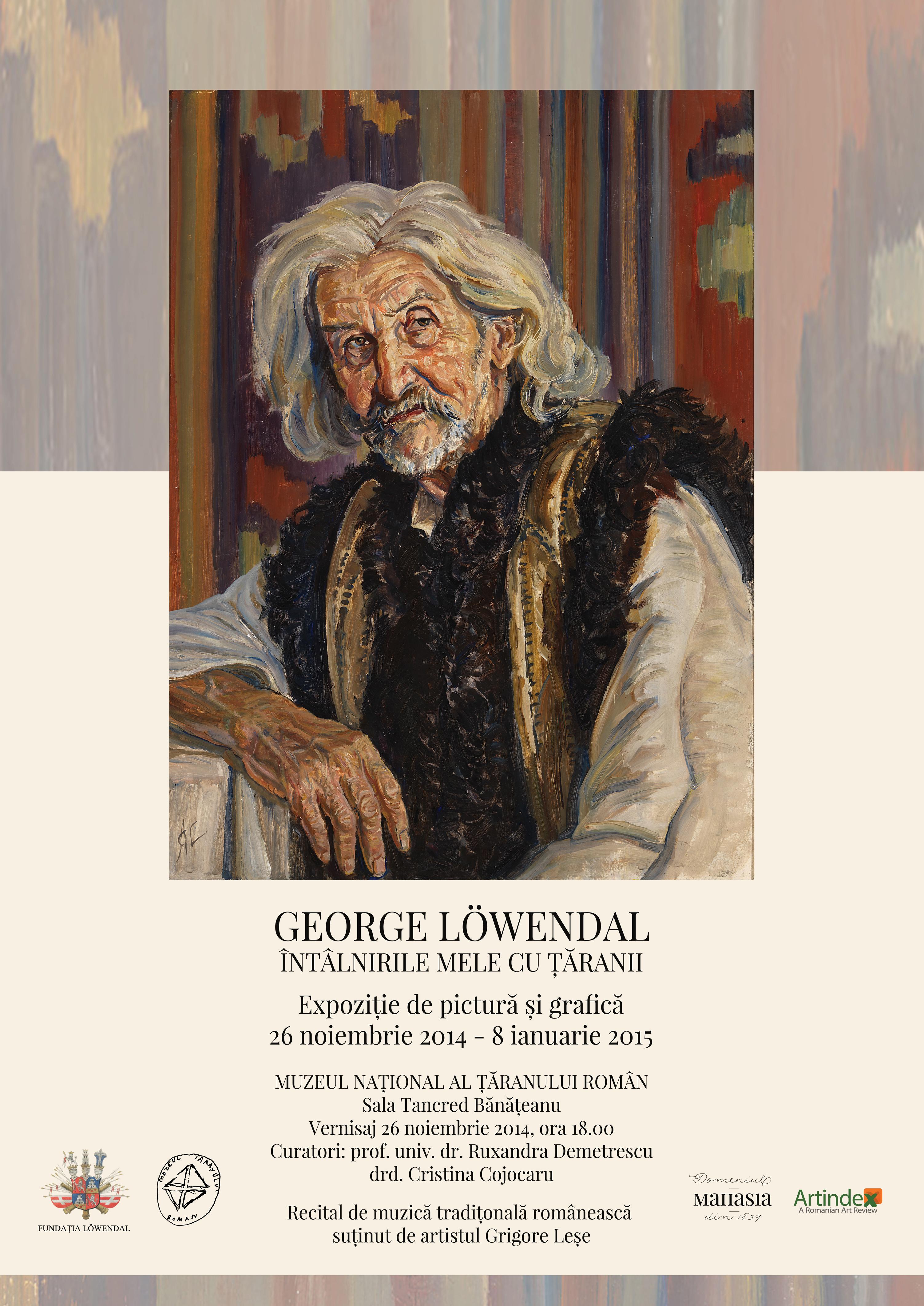 """,,Întâlnirile mele cu țăranii"""", portrete unice în pictura românească modernă, semnate de artistul George Löwendal"""