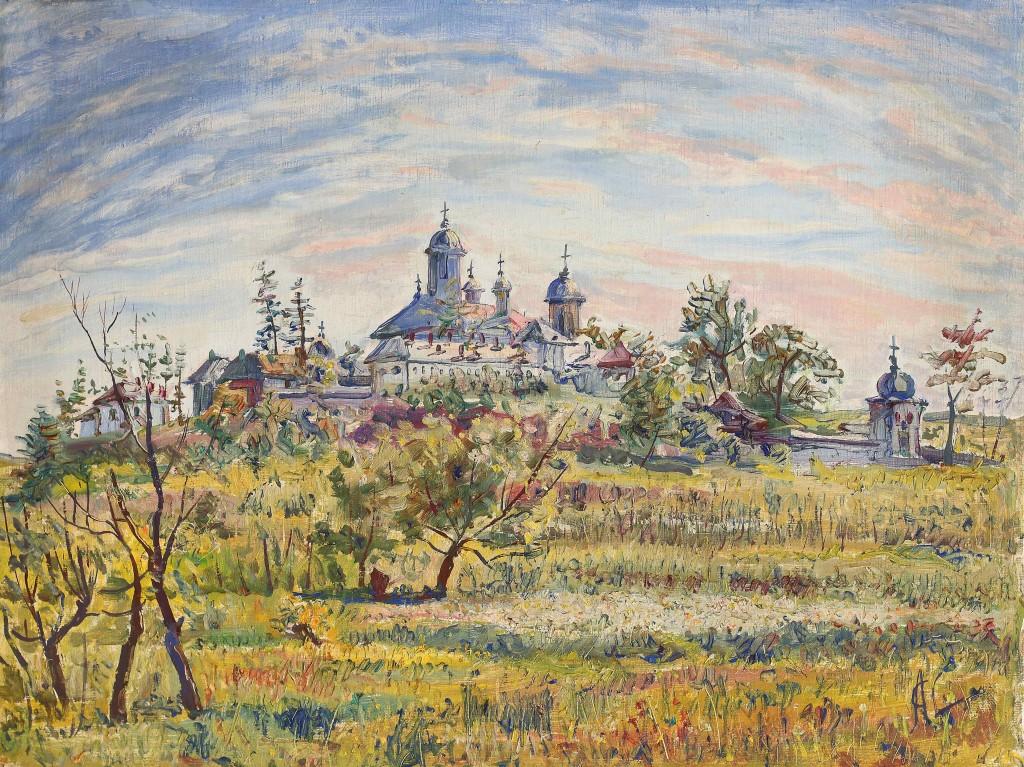 George Lowendal-Manastirea Cernica 1957