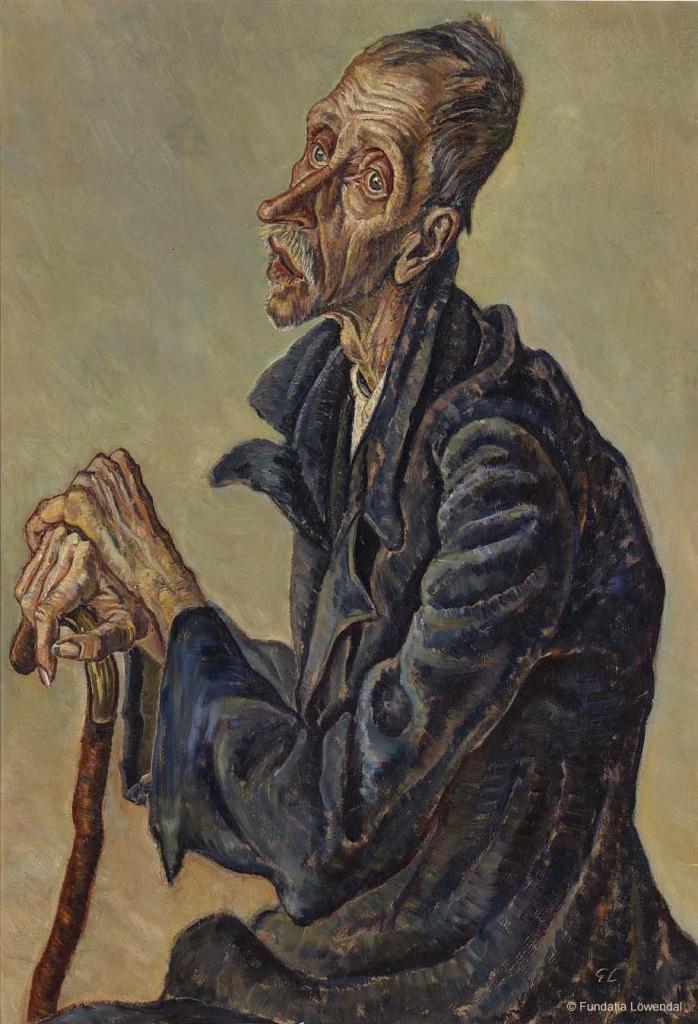 04. George Löwendal - Pensionist im Altersheim, 1933 © Fundația Löwendal