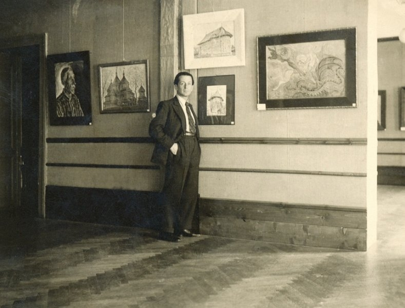 31-george-lowendal-in-expozitia-sa-personala-de-la-sala-mozart-bucuresti-1935